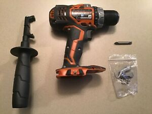 "RIGID 18 Volt 1/2"" Compact 2 speed LED Drill Driver Coreless 4 Lithium-Ion Lipo"