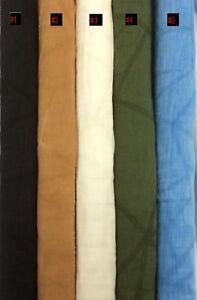 Hardy'sTextile30%Silk70%Linen Salty Print Fabric DIY Dress Shirt Skirt Top GSM61