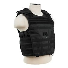 NcStar VISM BLACK Tactical MOLLE Operator Plate Carrier Body Armor Chest Rig