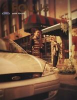2000 Ford Focus Sales Brochure Book