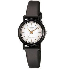 Casio LQ139E-7A, Analog Watch, Black Resin Band, White Dial