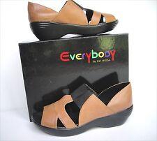 New Everybody Shoes by BZ Moda women's slip on brn  sandals sz US 9 Eur 40  $220