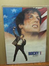 vintage Rocky V Go for it  movie poster 1990 2316