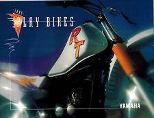 1995 YAMAHA Motorcycles Racing Sales Booklet, Motorcycling, Playbikes Catalogue