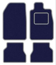 Skoda Superb II 08- Velour Blue/Silver Trim Car mat set