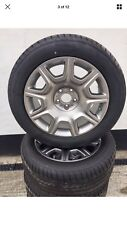 """ROLLS ROYCE GHOST 19"""" ALLOY WHEELS GOODYEAR RUNFLAT TYRES TPMS for VW T5 T6 T30"""