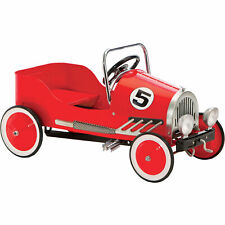 """""""Morgan Cycle Retro Style Pedal Car, Red"""""""