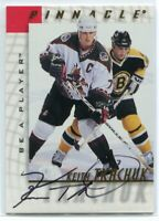 1997-98 Be A Player Autographs 22 Keith Tkachuk Auto