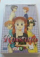 ROSSANA vol 3 DVD yamato video DeAgostini Miho Obana NUOVO fuori catalogo raro