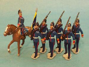 Toy Soldiers-Prussian Infantry-German Army-Franco-Prussian War-World War One-WW1