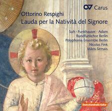 Kaminski / Suh / Ber - Ottorino Respighi: Lauda Per la Nativita Del [New CD]