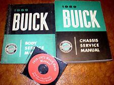 1959 59 Buick Service Manuals Shop Repair Le Sabre Electra 225 Invicta Lesabre