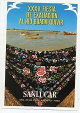 España XXXV Fiesta de Exaltación al Rio Guadalquivir Sanlucar año 1989 (CZ-680)