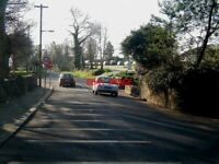 PHOTO  2002 SPOT THE PROBLEM! JUNCTION OF MAIN STREET RATHDRUM AND THE R752 ROAD