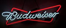 "Budweiser Glass Neon light Sign Beer Bar Store Garage Party Pub Display 19""x8"""