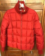 Tommy Hilfiger Jeans USA Ski Team Puffer Jacket Red Women's L Vintage Rare