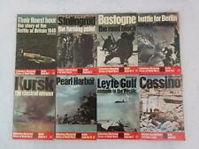 Lot of 8 BATTLE BOOKS Ballantine's Illustrated History of WWII Violent Century