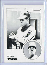 Rare! 1983 TOPPS - BLACK & WHITE TEST PROOF - ERROR - Al Williams #731 Twins