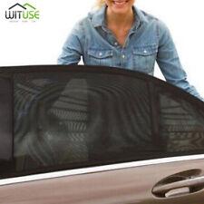 car side rear window sun shade mesh shield cover sunshade uv rays protect 2pcs