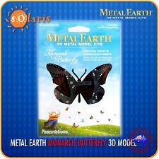 Fascinations Metal Earth Monarch Butterfly 3D Color Laser Cut Model
