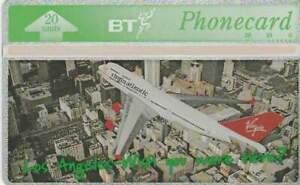 Telefoonkaart / Phonecard Engeland - Vliegtuig / Airplane / Virgin 3 (354)