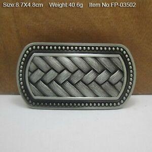 Boucle (( ENTRELAC CELTE )) Ceinturon ceinture cowboy western