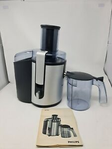Philips Aluminium Collection HR1861/00 Juicer With Jug & Instruction Tested