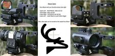 ALL NEW - Archery Bow Scope Mount   Red Dot Laser Sight and All Compounds