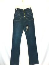 Karl Kani Ladies Jeans Size 27W High Waist NWT