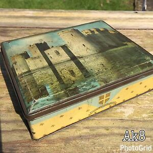 Edward Sharp&Sons Ltd Confectionery Tin Bodiam Castle Sussex Picture