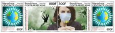 CENTRAL AFRICAN REPUBLIC 2020 - STRIP - JOINT ISSUE - PANDEMIC RARE MNH