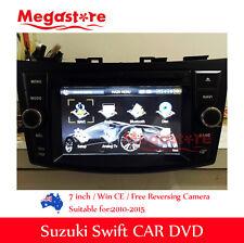 "7"" Car DVD GPS Sat Nav Radio USB SD BT For SUZUKI SWIFT 2011-2015"
