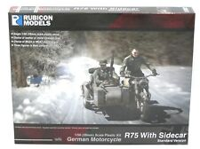 Rubicon 280051 WWII German Motorcycle R75 with Sidecar Standard Version (ETO)