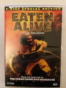Eaten Alive DVD 1976 Tobe Hooper 2 disc special edition slasher horror rare OOP