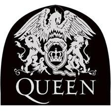 Queen 'Crest' (Black) Beanie Hat - ¡NUEVO Y OFICIAL!