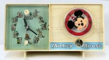 1960's General Electric Youth Electronics Mickey Mouse Clock Radio