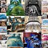 Duvet Cover Sets 3D Animal Print Bedding Set Pillow Cases King Size Pillowcases