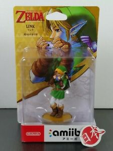 NEW Nintendo Amiibo Link The Legend of Zelda: Ocarina of Time SAME DAY FREE SHIP