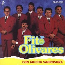 Fito Olivares Con Mucha Sabrosura CD New Nuevo NOT Sealed