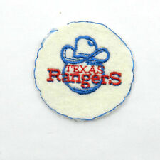 "Vintage Texas Rangers 2"" Sew On Patch Baseball"