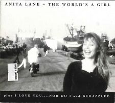 "ANITA LANE ""The World's A Girl"" +2 UK 1995 Digipak CD single Nick Cave Bedazzled"