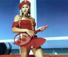 GLOSSY PHOTO PICTURE 8x10 Anna Kournikova Sexy With Racket In Hand