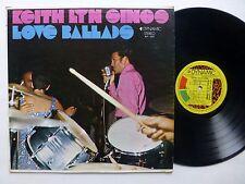 KEITH LYN Sings Love Ballads LP w/Byron Lee & Dragonaires CALYPSO pop  #226