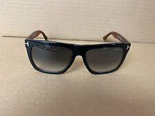 Tom Ford TF513 Morgan Sunglasses 05B Black-Havana  / Gray Gradient 57-16 140