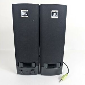 JBL Platinum Series Computer Speakers Wired Model SP08A11 WORKS NO POWER CORD