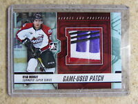 12-13 ITG Heroes Prospects Subway Series Game-Used Patch RYAN MURRAY Silver /10