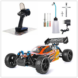RC Car 1:10 Scale 4wd Two Speed Off Road Nitro Gas Power Remote Control Car Toys