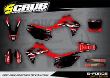 Honda CRF Dekor Grafik set 250  R 2014 2015 2016 2017 '13 - '17 - SCRUB MX