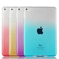 Crystal TPU Silikon Back Case iPad Mini 4 Cover Schutz Hülle Etui in zwei Farben