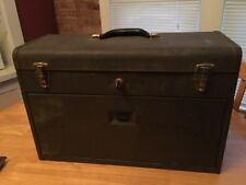 Vintage Craftsman Machinist Toolbox Chest 7 Drawer Better Than Kennedy With Key